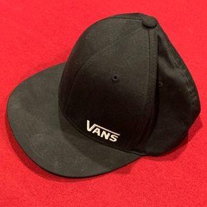 Vans Black Flexfit Cap XL